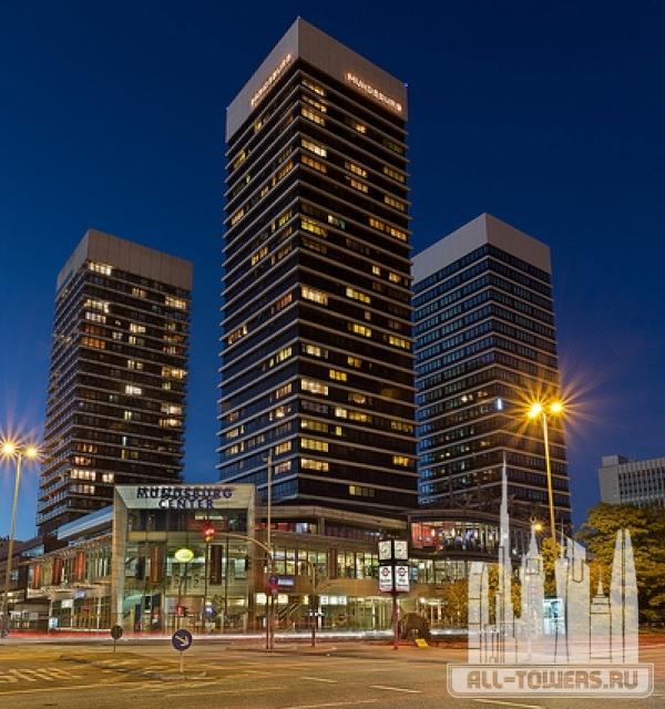 mundsburg - apartment tower