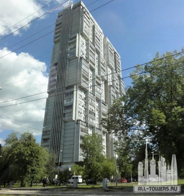 здание на ул. большая черкизовская, 20 корпус 1