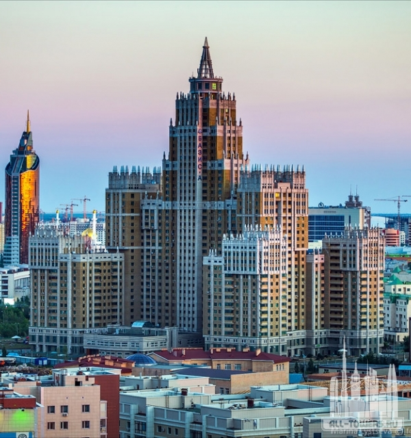 "ЖК ""Триумф Астаны"" / Triumph of Astana"