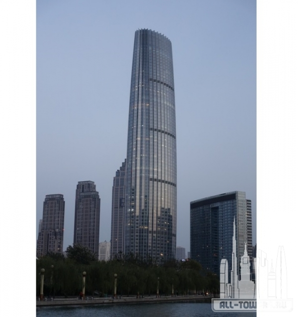 Tianjin World Financial Center (Тяньцзиньский всемирный финансовый центр)