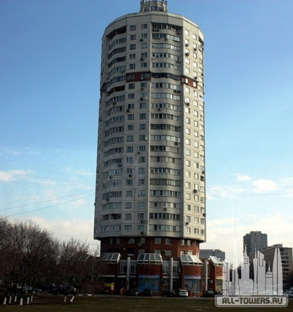 здание на ул. волгоградский просп., 183 корпус 2