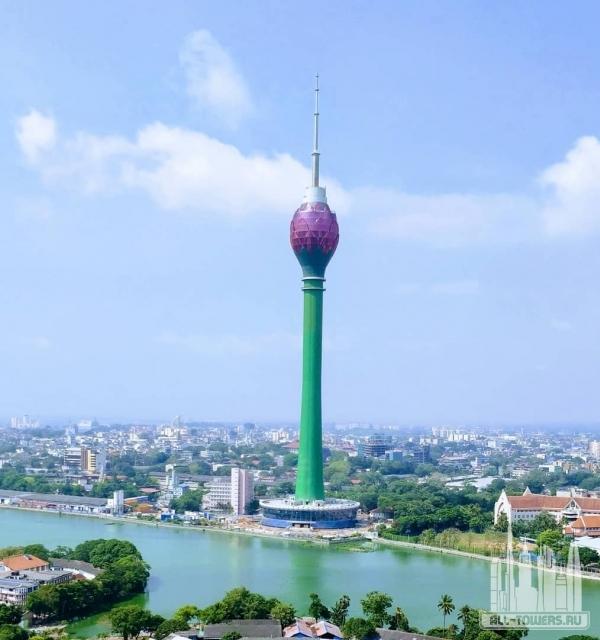 colombo lotus tower (телебашня «лотус»)