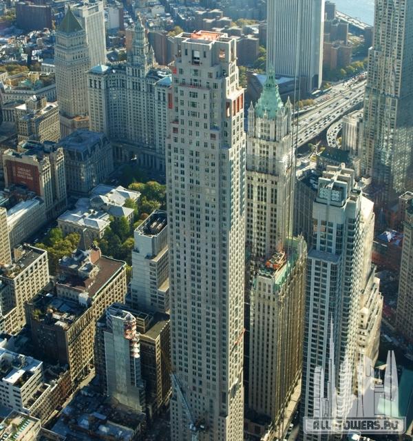 30 park place (отель четыре сезона и частные резиденции нью-йорка)