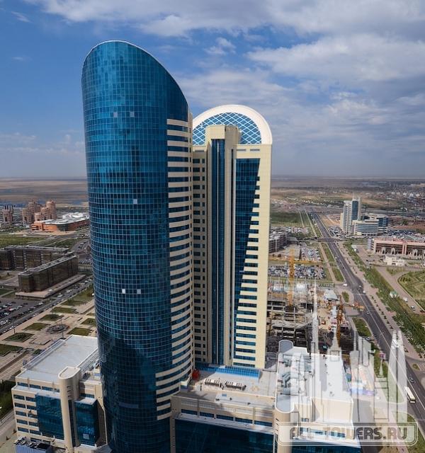 Kazakhstan Railways Building 2