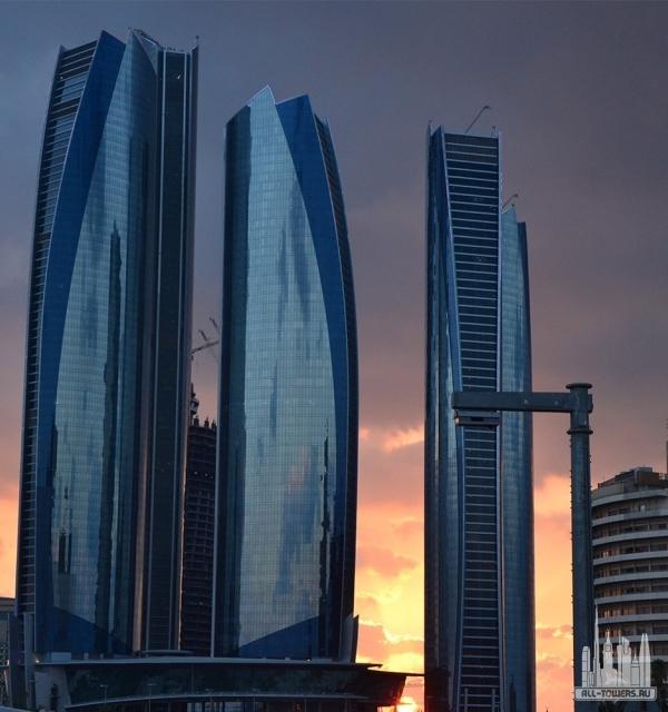 etihad tower 2 (башня этихад 2)