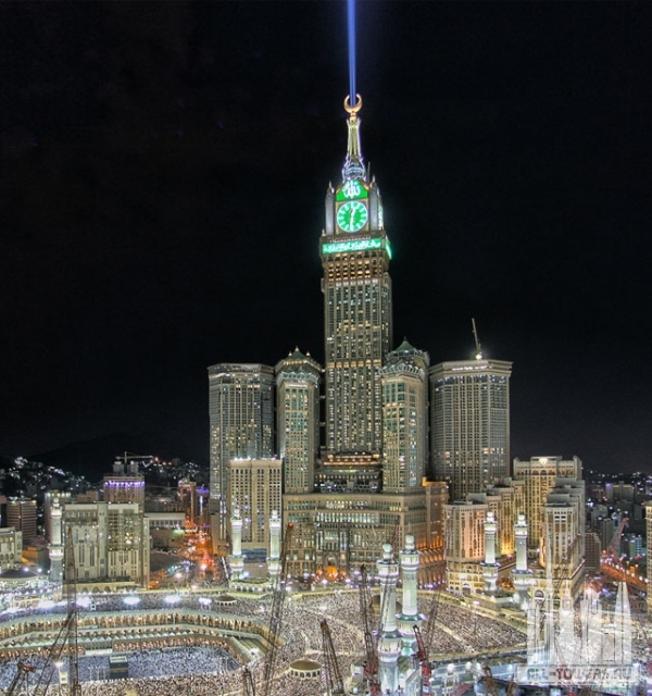 makkah royal clock tower (абрадж аль-бейт)