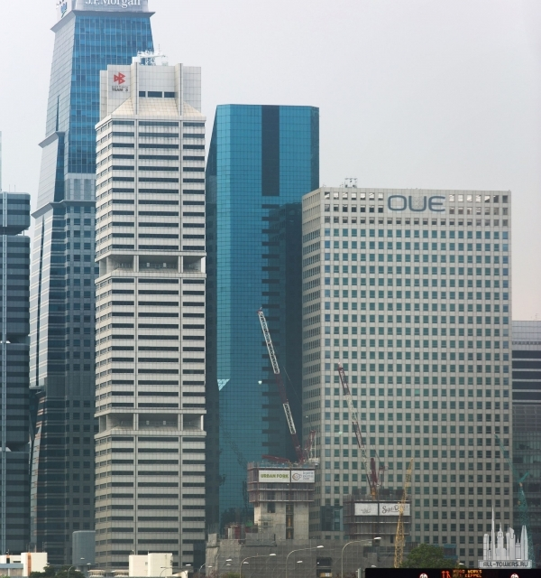 dbs building tower one