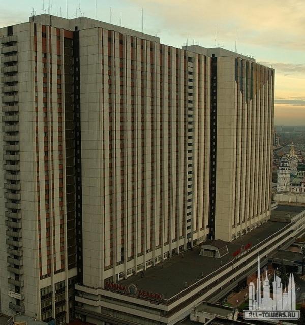 гостиничный комплекс «измайлово» «дельта»