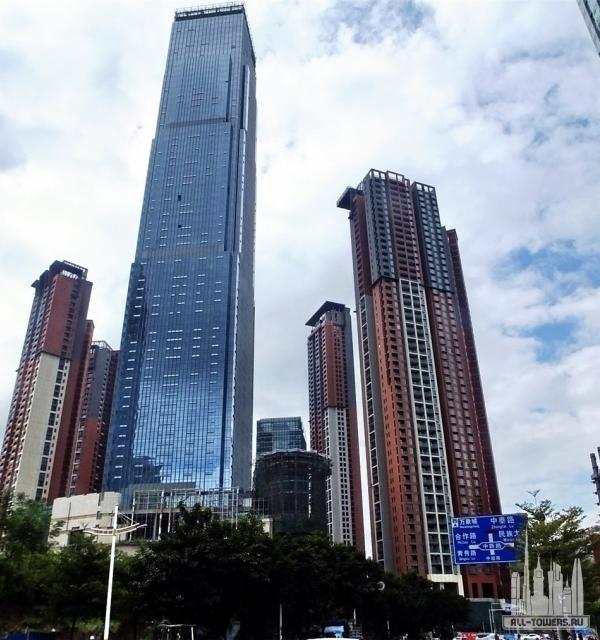 jiuzhou international tower (международная башня цзючжоу)