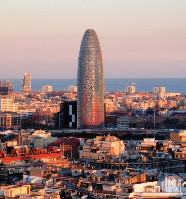 Torre Agbar (Башня Агбар)
