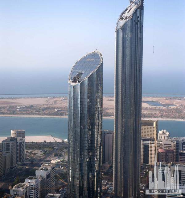 world trade center abu dhabi - the offices (башня всемирный торговый центр абу-даби - офис)