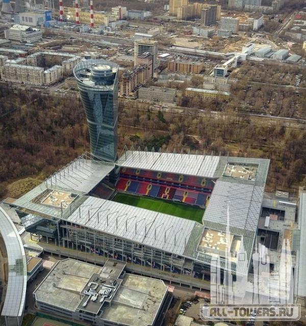 башня стадиона фк цска