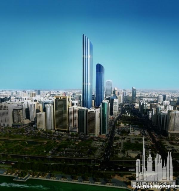 world trade center abu dhabi - the residences (башня всемирный торговый центр абу-даби-резиденции)