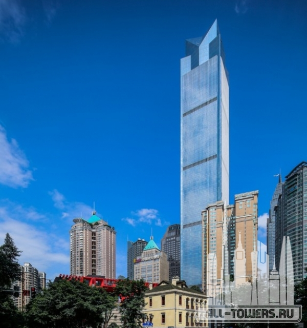 chongqing world financial center (башня всемирный финансовый центр чунцин )