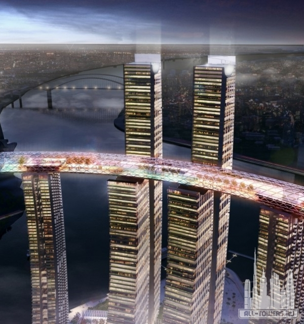 Chongqing Chaotianmen Tower (Tower 2-5)