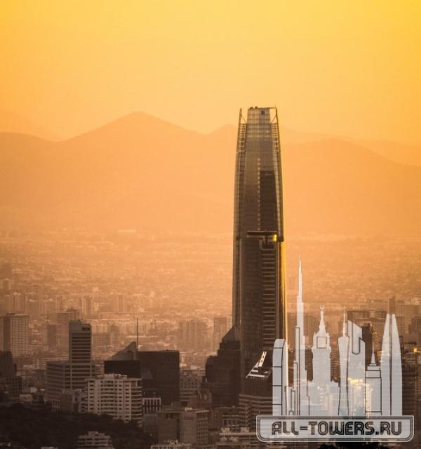 gran torre santiago (гран торре сантьяго)