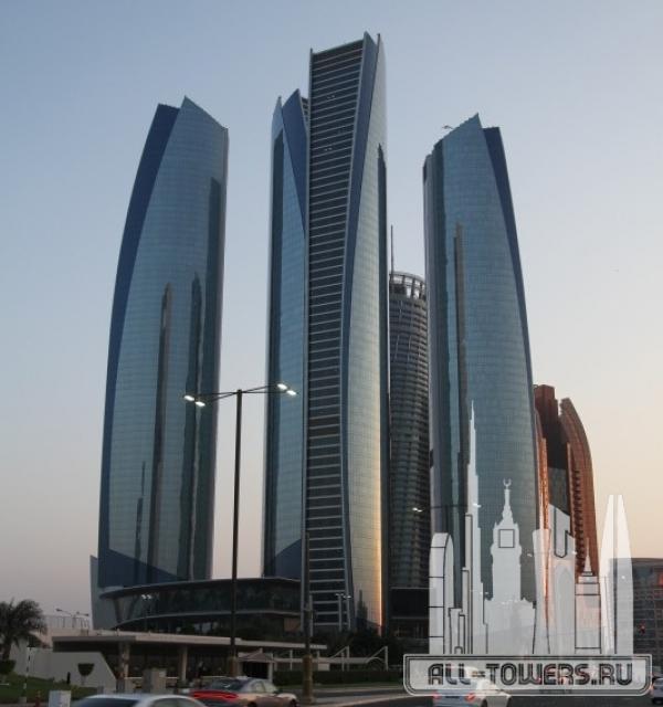 etihad tower 1 (башня этихад 1)