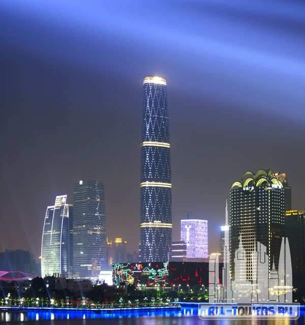 guangzhou international finance center (международный финансовый центр гуанчжоу)