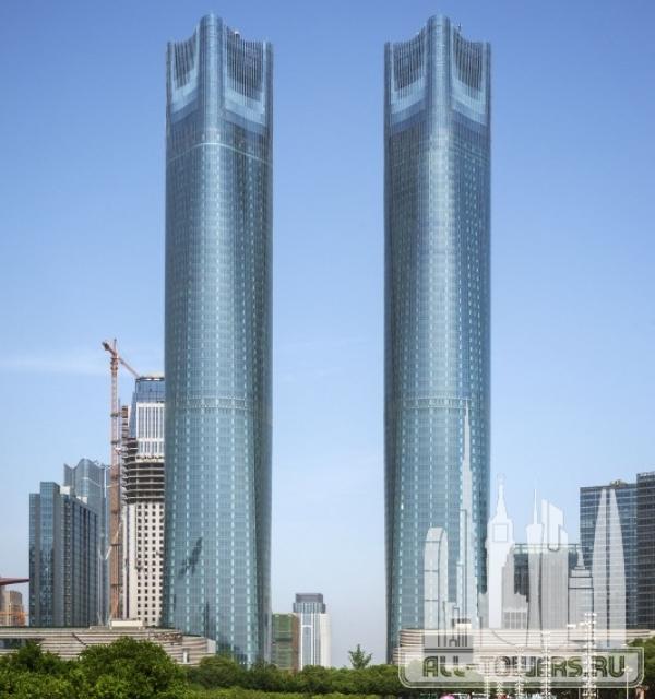 jiangxi nanchang greenland central plaza tower a