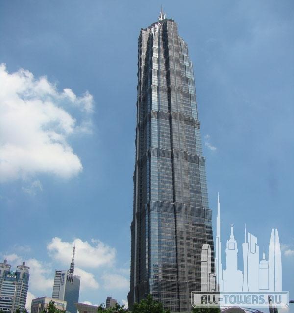 jin mao tower (башня цзинь мао)