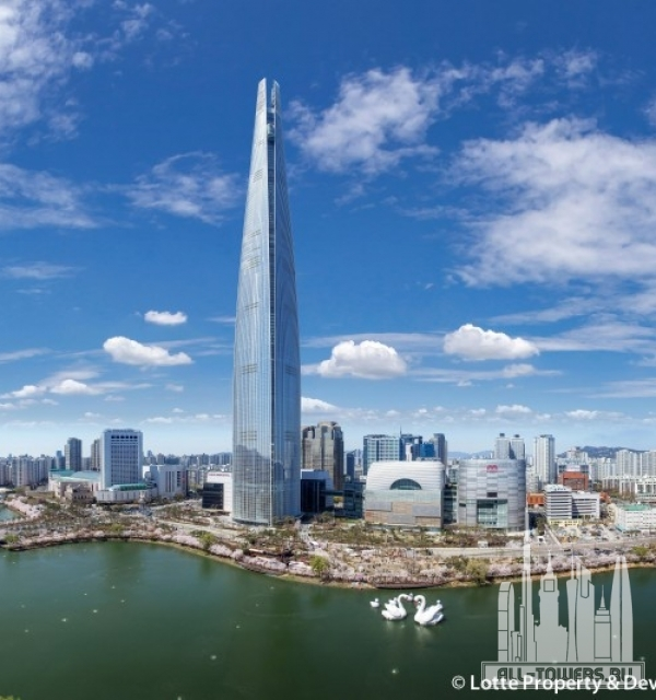 lotte world tower (башня лотте ворлд)