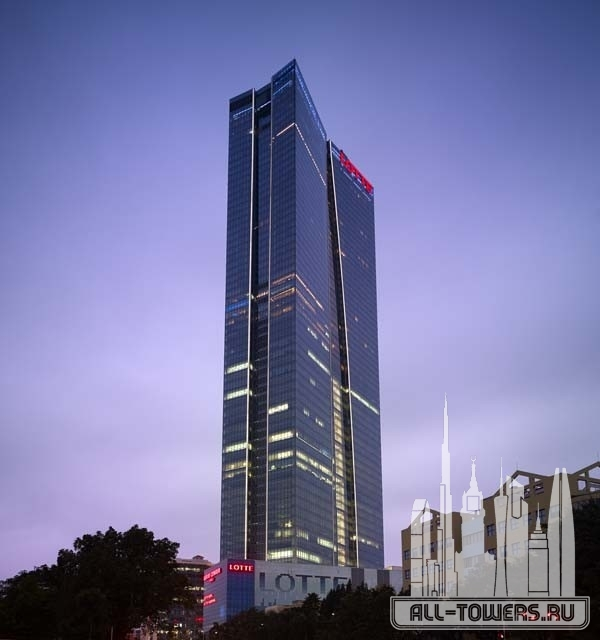 lotte center (башня лотте центр)