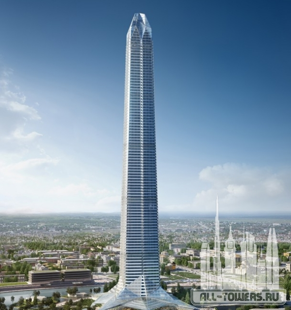 akhmat tower (ахмат тауэр)