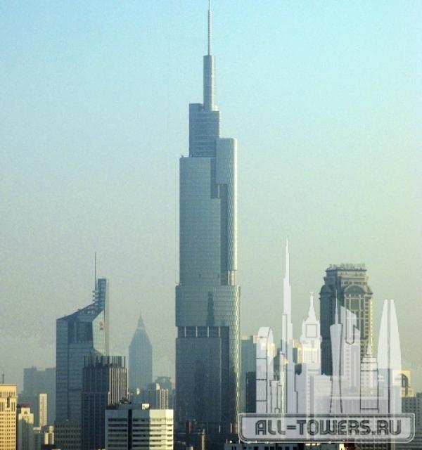 zifeng tower (финансовый центр наньцзин-гринлэнд)