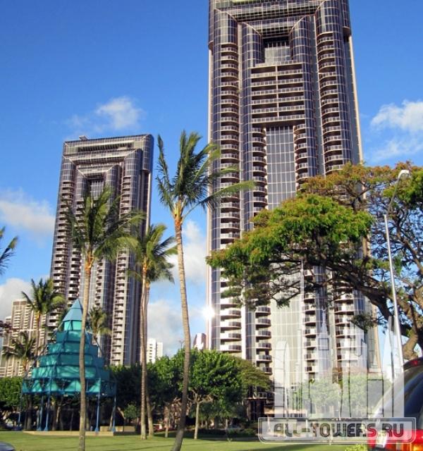 one waterfront tower - makai