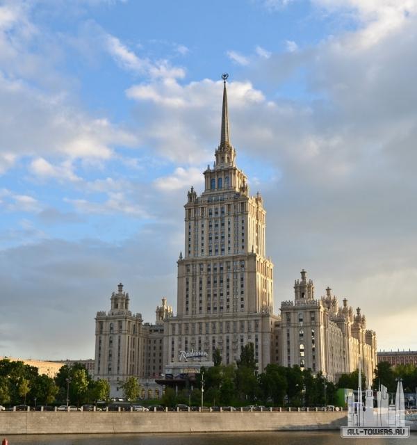 высотка гостиница «украина»