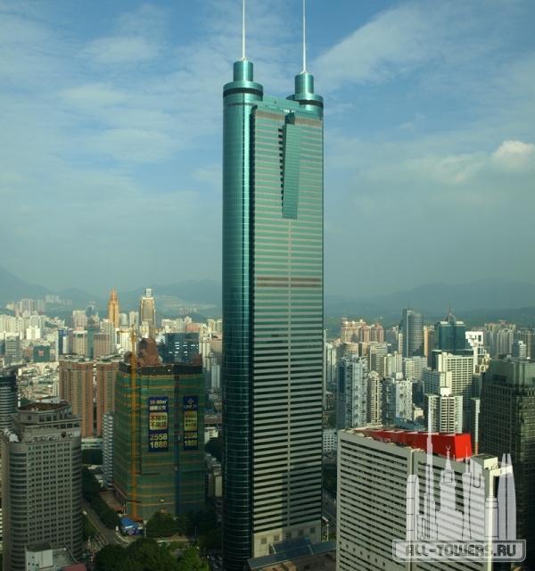 shun hing square (башня сёньхин)