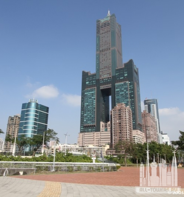 85 sky tower (башня тантекс скай тауэр)