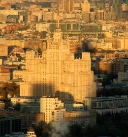 Высотка на Кудринской площади