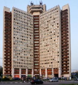 Гостиница и общежитие Мосметростроя