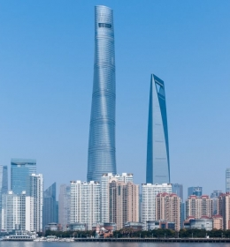 Shanghai Tower (Шанхайская башня)