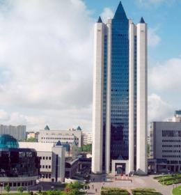 Здание штаб-квартиры «Газпрома»