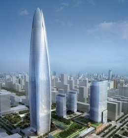 Ningbo Center Tower 1