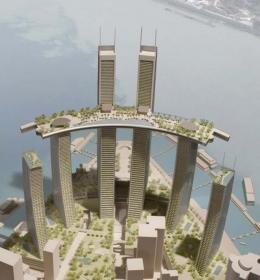Chongqing Chaotianmen Tower (Tower 3-4)