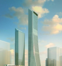 Greenland Center Tower 1