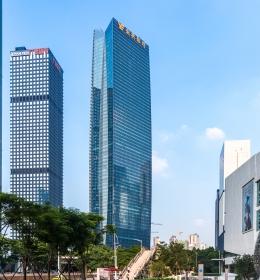 Yuexiu Financial Tower (Финансовая башня Юэсю)