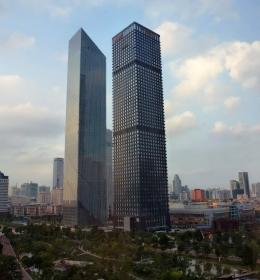 Bank of Guangzhou Tower (Гуанчжоуский банк)