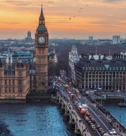 Башня Елизаветы (Биг-Бэн) (Elizabeth Tower (Big Ben))