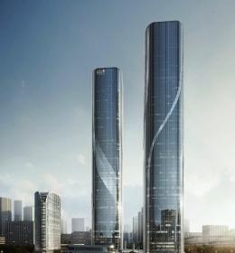 Shimao Hangzhou Twin Tower A-B