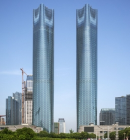 Jiangxi Nanchang Greenland Central Plaza Tower A