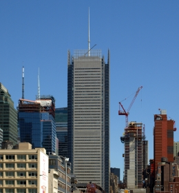 New York Times Tower (Небоскрёб Нью-Йорк Таймс Тауэр)
