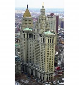Manhattan Municipal Building (Муниципальное здание Манхэттена)