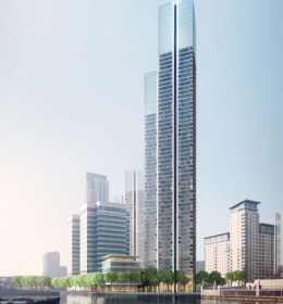 South Quay Plaza Tower A
