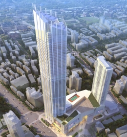 Wuxi Suning Plaza (Башня Уси Сунинг Плаза)