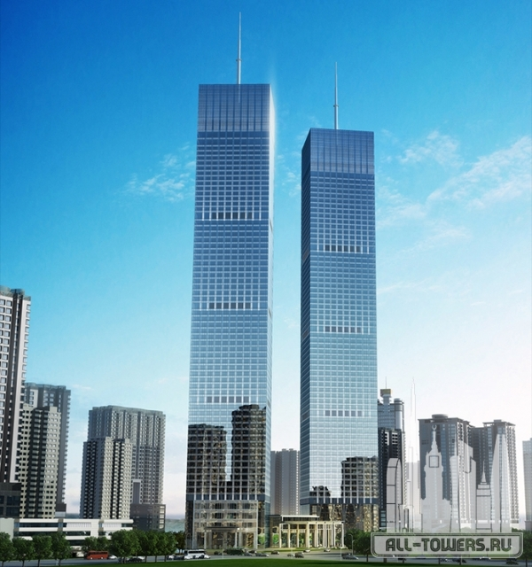 twin towers guiyang, west tower
