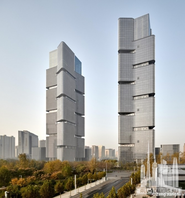 greenland zhengzhou central plaza north tower